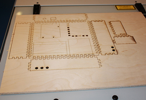Laser cutting for 3D objects