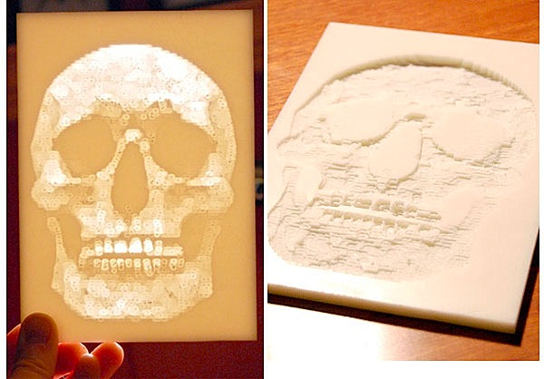 Lithophane-making with the Micro CNC