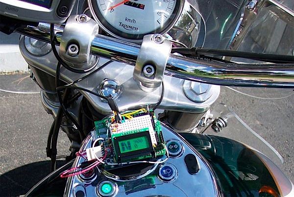 Motorcycle Control Panel with Arduino