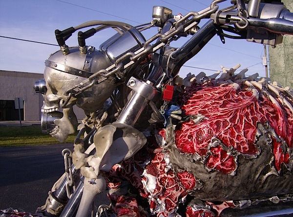 Extreme corpse motorcycle