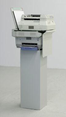 Photocopier sculpture