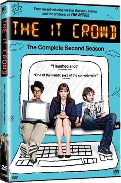 The IT Crowd on DVD in the States