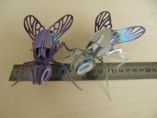 CNC flies fron CDs