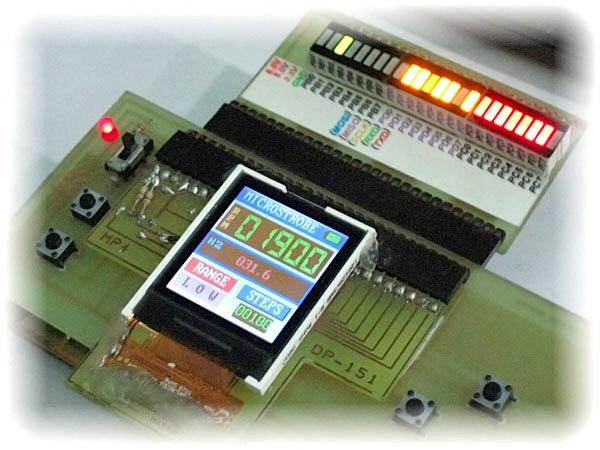 Deluxe LCD hacking board