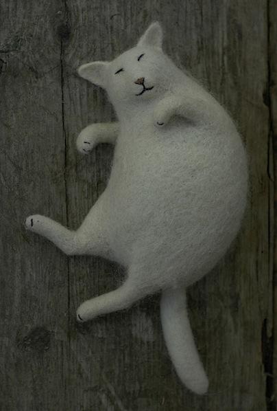 Victor Dubrovsky's Felt Animals
