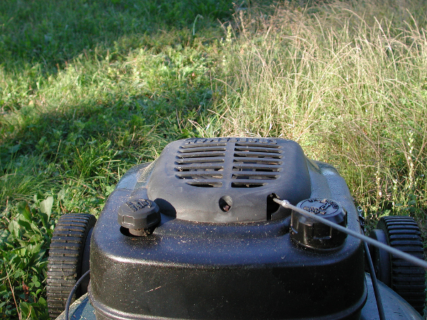 Thoughts on lawn mowing