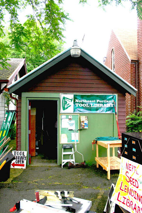 Portland Tool Libraries