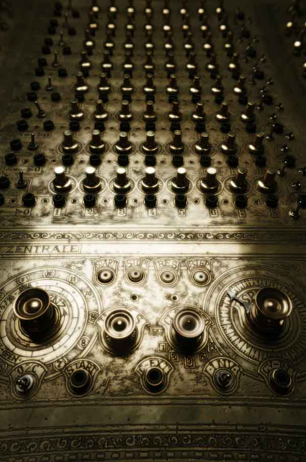 Etched-brass modular synth