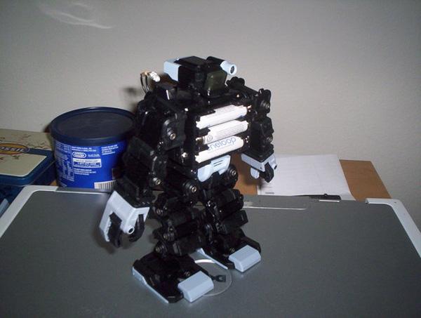 Arduino controlled I-Sobot