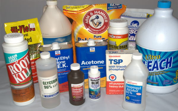 Setting Up a Home Science Laboratory Part III - Chemicals on the