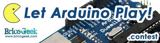 Let Arduino Play: Arduino game contest