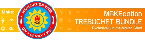 MAKEcation trebuchet bundle in the Maker Shed