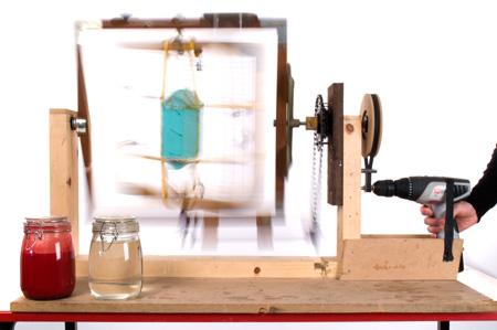 DIY rotomolding machine