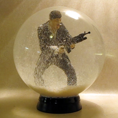 Make: Projects – Giant snow globe