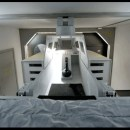 Y-Wing bunk completes a scifi bedroom