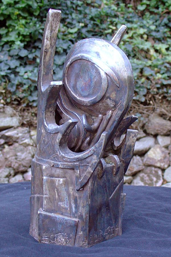 Art deco Cthulhu idol