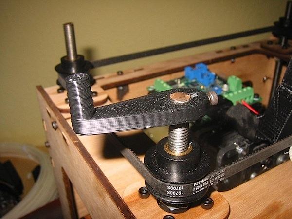 MakerBot z-crank