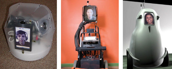 Sparky Jr, a DIY telepresence robot