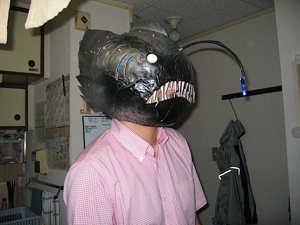 How-To: Angler fish mask