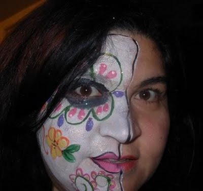 Crafty Chica's Cycle of Life Face Paint