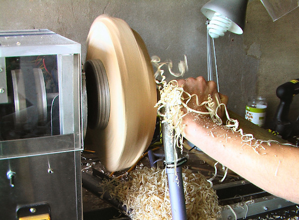 Want a lathe?  Make one from junk