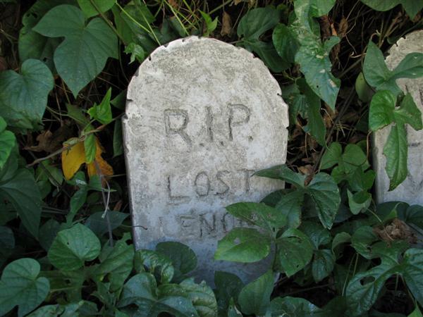 How-To:  Cast concrete tombstones