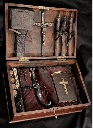 Vampire and/or werewolf hunting kits