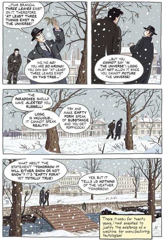 'Logicomix' – A Comic Book About Logic, Math and Madness