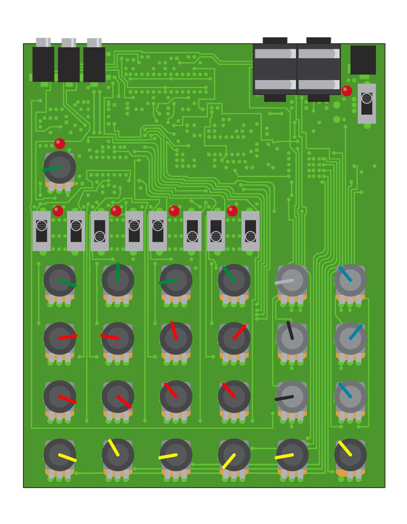 Build a drone synthesizer