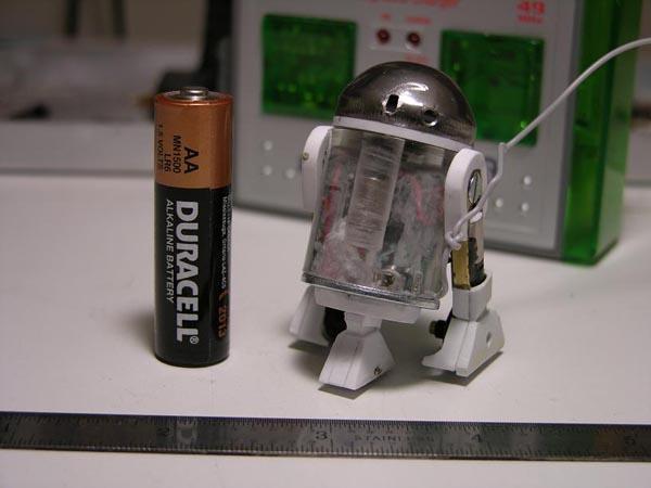 World's smallest R2?