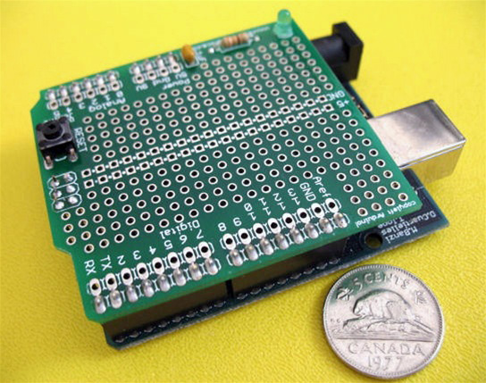New in the Maker Shed: ProtoShield for Arduino Kit