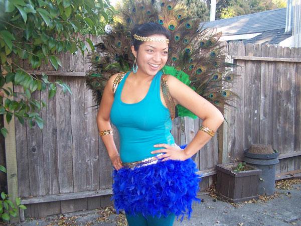 Princess' Peacock Costume