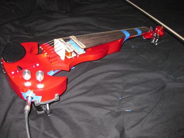 Mark's violin update