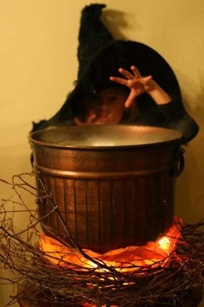 How-To: Spooky Witch's Cauldron
