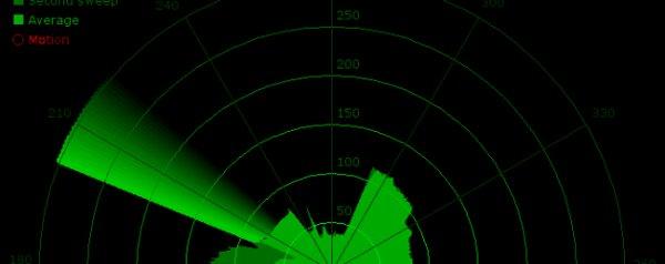 DIY sonar visualizer with Processing + Arduino