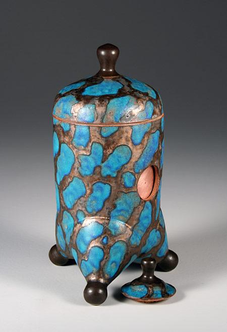 Steve Irvine's ceramic cameras