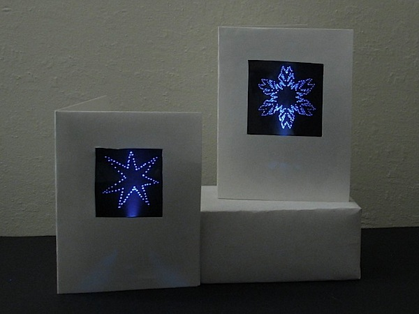 How-To: Refined edge-lit holiday cards