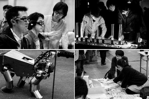 Photos from Make: Tokyo Fall 2009
