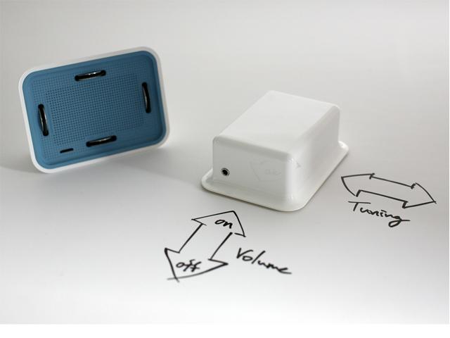 R1 tactile radio prototype
