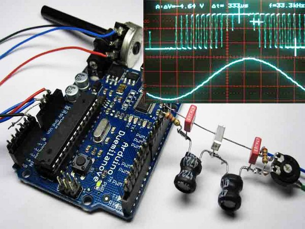 Generating high-quality sine waves with Arduino