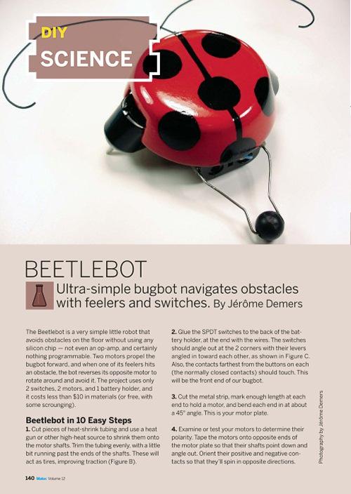 Weekend Project: Beetlebot (PDF)