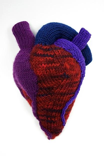 Ben Cuevas' Knitted Heart