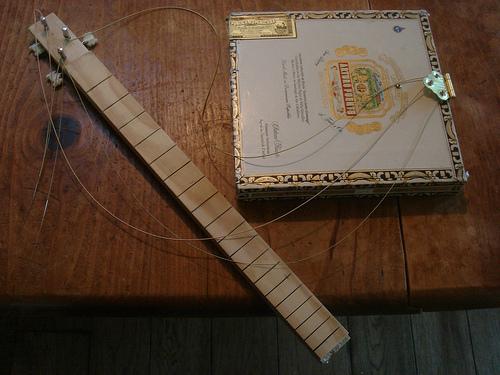 Intern's Corner: Cigar Box Guitar bloopers