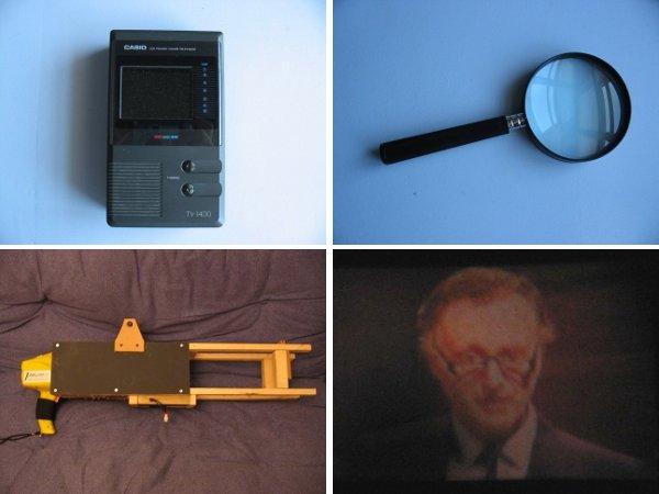 DIY micro projector