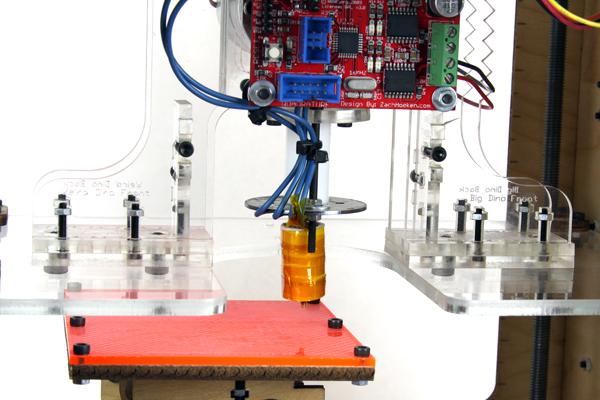 CupCake CNC build, part 11: Building the Plastruder & finishing up