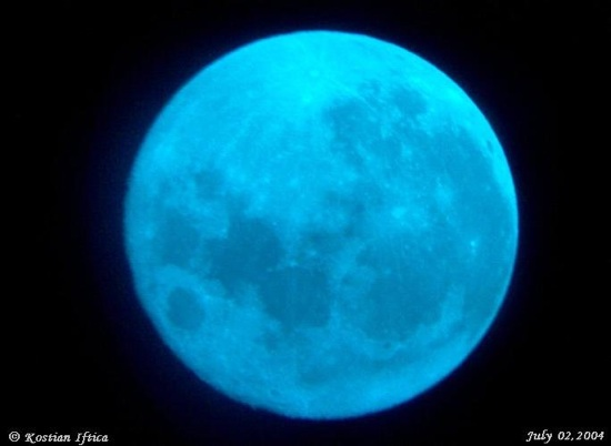 New Year's Eve 'blue moon' to ring in 2010