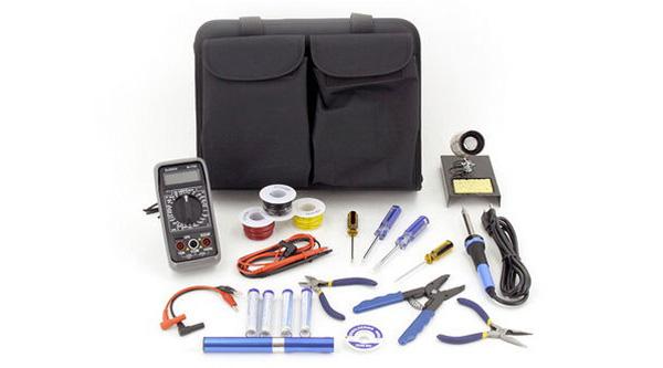 Make: Electronics toolkit