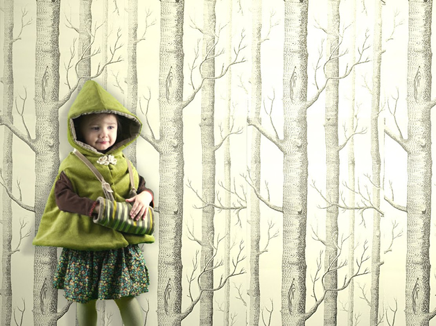 How-To: Child's Muff And Storybook Reversible Cape