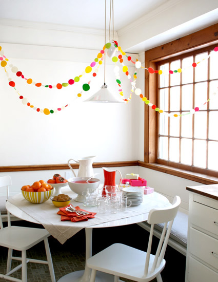 How-To: New Year's Garland