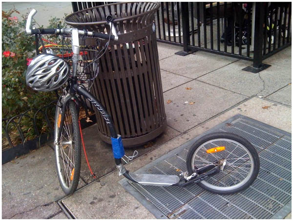 Scooter-bike hybrid